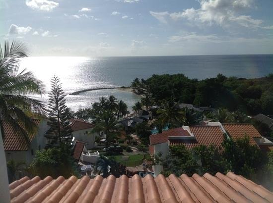 Windjammer Landing Villa Beach Resort: View from Villa 40, October 2013