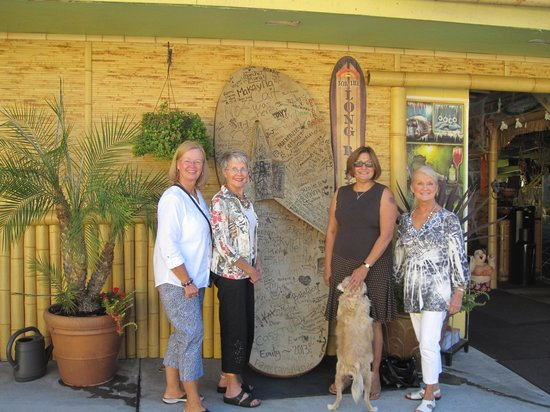 Always Inn San Clemente B&B: Freda took us to the Rainbow Sandal Factory Store