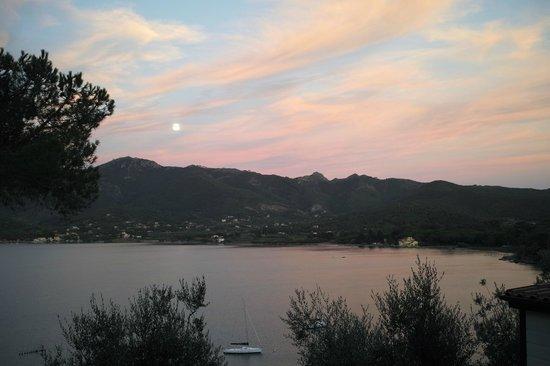 Hotel Grotte del Paradiso: Blick von der Terrasse aus