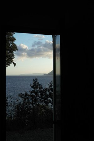 Hotel Grotte del Paradiso: Blick vom Zimmer