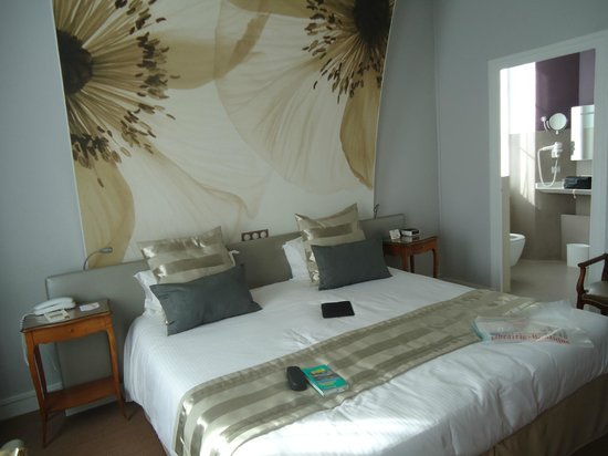 Best Western Champlain France Angleterre: Notre chambre