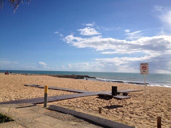 Pinhal do Sol Hotel: Local beach