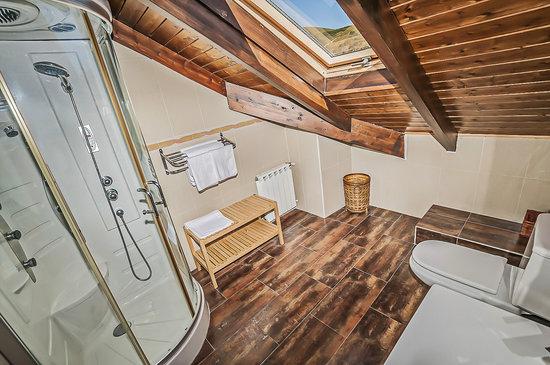 Casa Rural Pajarapinta: baño suite