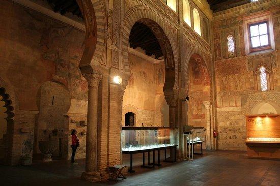 Museum of Visigothic Culture: Interior of the museum