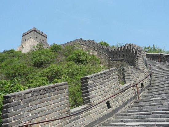 Raffles Beijing Hotel : Pequeño trocito del Monumento mayor de la Humanidad,la Gran Muralla China.