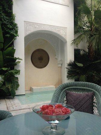 Riad Idra : Courtyard