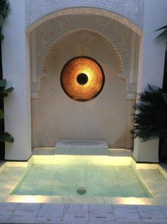 Riad Idra : Water feature