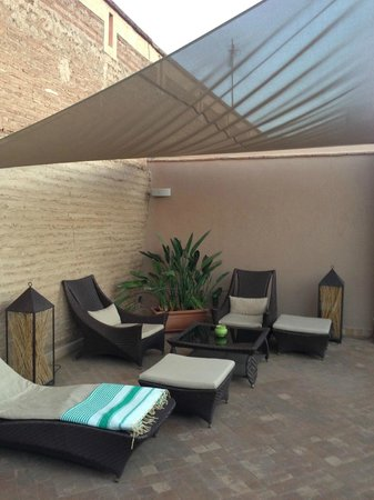 Riad Idra : Roof