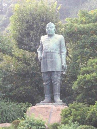 Saigo Takamori Statue: 銅像