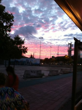 City Sightseeing Seville : Il quartiere di Triana al tramonto