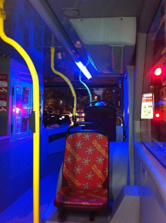 City Sightseeing Seville : L'interno del Hop On - Hop Of