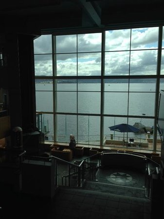 Wrest Point : View from stairs near Onyx bar