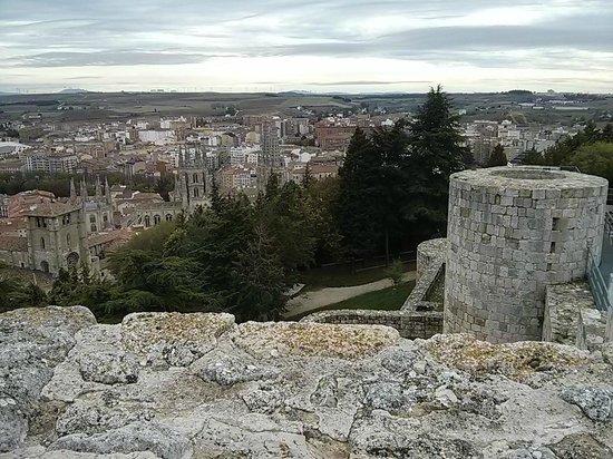 Castillo de Burgos: Vistas desde el Castillo