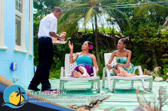 Sea Breeze Inn : warm and friendly staff