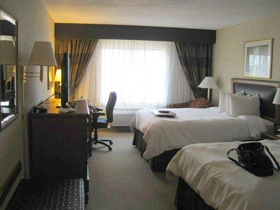Hampton Inn & Suites by Hilton Rockville Centre: Double Queen