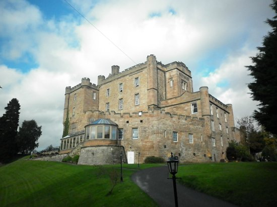 Dalhousie Castle: Castle from grounds