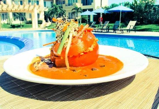 Restaurant El Sauce and La Palma: El Ameyal | Restaurante Vegetariano