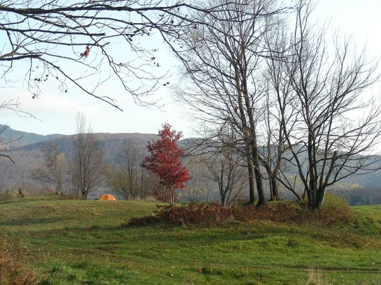 Au Diable Vert: Camping