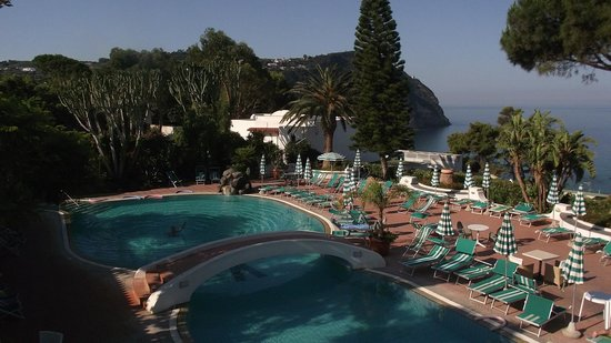 Parco Hotel Terme Villa Teresa: бассейн отеля