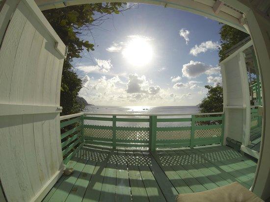 Blue Mango: View from livingroom