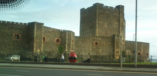 Northern Ireland, UK: Carrickfergus Castle