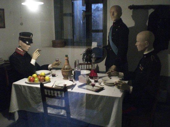 Museo Forte Bramafam: vita nel forte