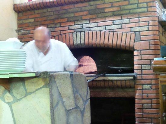Siracusa : le four à pizza