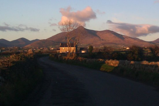 Ulster Way: Sunset in the Mournes