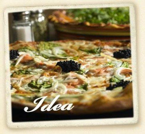 Classic Pizza: Salmon Rucola