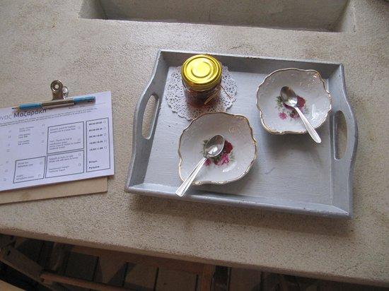 Guesthouse Mazaraki : και γλυκό του κουταλιού