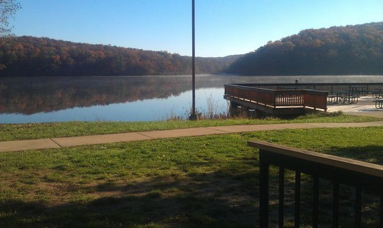 Potosi, MO : our view from Trout Lodge