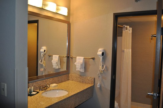Quality Inn Brooklyn Center: Bathroom