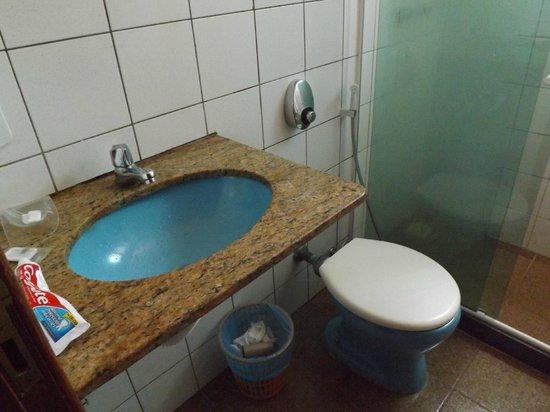 Pousada A Casa do Torrely : lavamanos con hongo