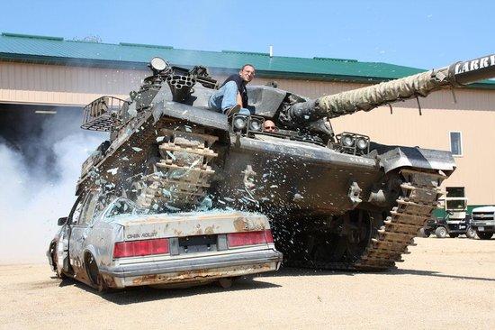 Kasota, Minnesota: Drive A Tank - unlike anything else you've experienced!