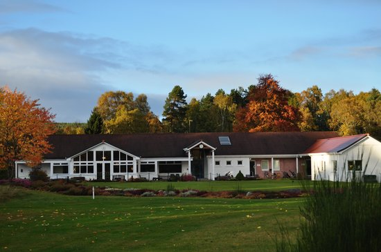 Boat of Garten Golf Club: Club House