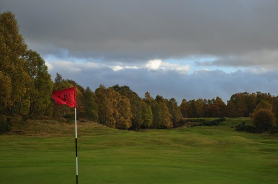 Boat of Garten Golf Club: 18th