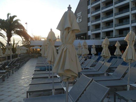 Dunas Don Gregory: Vista de la terraza del hotel