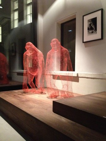 Das Stue: lobby art