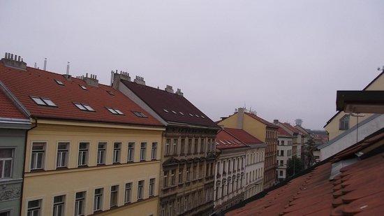 Hotel Victoria: вид из окна