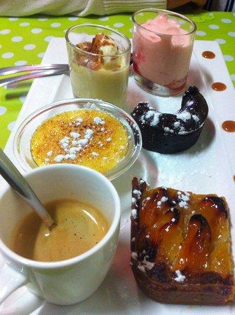 Le Petit Gourmand : Café gourmand