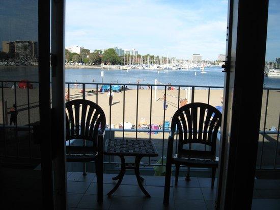 Foghorn Harbor Inn Hotel : View from inside our room