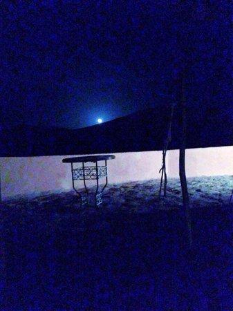 Bordj Taghit : Levé de lune