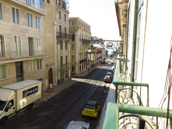 Hall Chiado: View from our room, towards the water