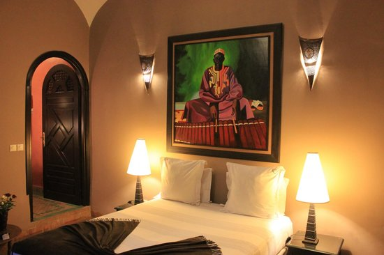 Dar Silsila: Our African room.