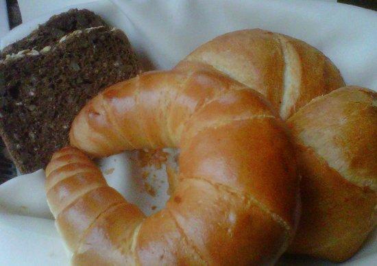 Cafe Schwarzenberg : Brotkorb