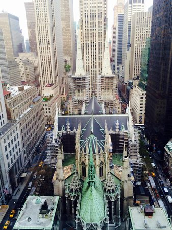 Cathedral View From 28 Floor Picture Of Lotte New York