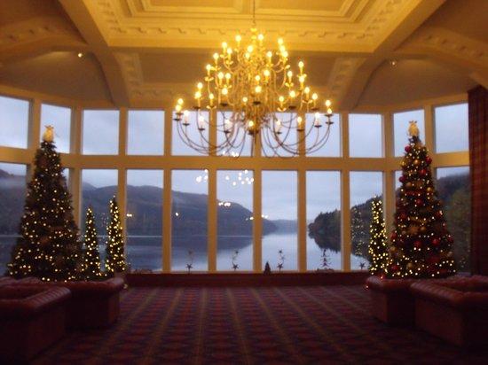 Ardgartan Hotel: reception area