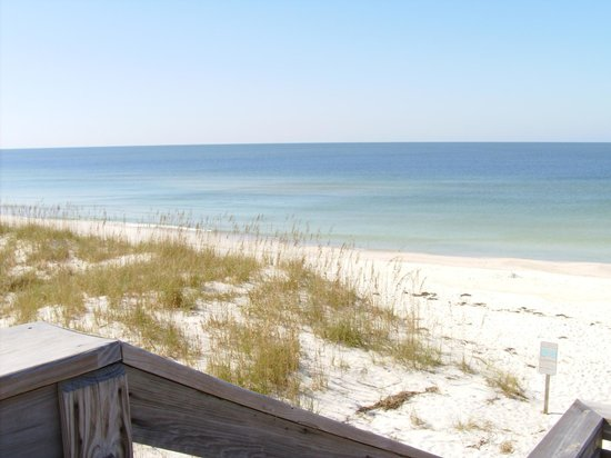 Cape San Blas Inn: Morning at the Beach across the street