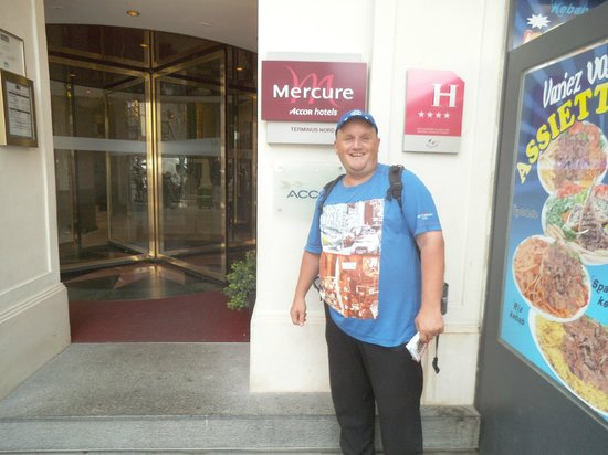 Mercure Paris Terminus Nord: Das Hotel war super