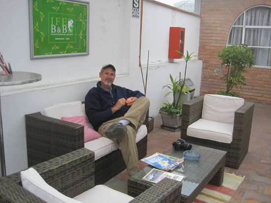Inka Frog Exclusive: lounge outside our room